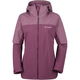 Columbia Evolution Valley II Jacket Women Deep Madeira